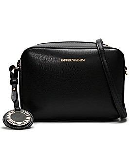 Emporio Armani Pebbled Camera Bag