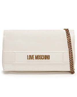 Love Moschino Front Flap Cross-Body Bag