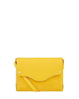 Monsoon Rhea Pu Cross Body Bag