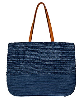 Monsoon Kaz Straw Shoulder Bag