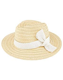Monsoon Bee Bow Fedora Hat