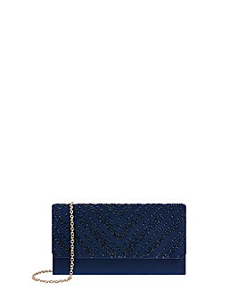 Monsoon Hannah Heatseal Clutch Bag