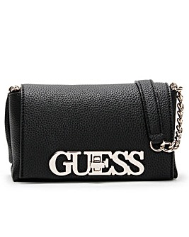Guess Mini Uptown Chic Flap Cross-Body