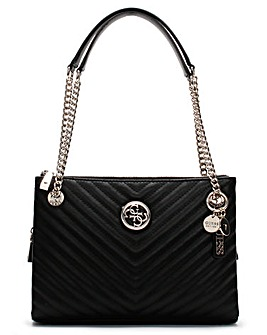 Guess Blakely Status Luxe Shoulder Bag