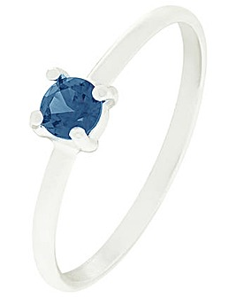 Accessorize Sapphire Stacking Ring
