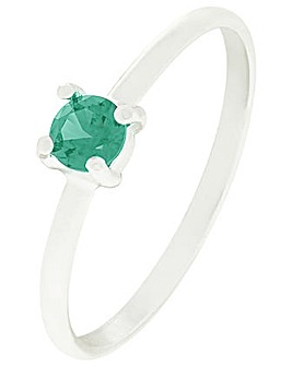 Accessorize Emerald Stacking Ring