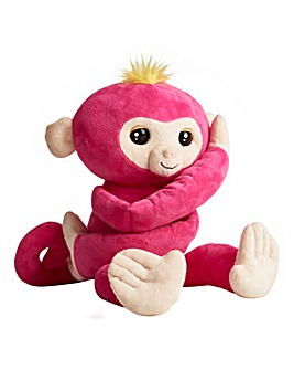 Fingerlings Hugs Monkey Pink
