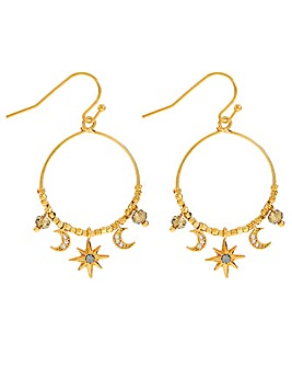 Accessorize Z Swarovski Starry Earrings