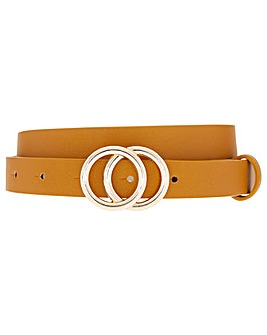 Accessorize Double Hoop Buckle Belt