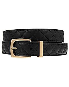 Accessorize Quilted Jeans Belt