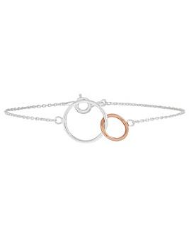 Accessorize Mixed Plate Circles Bracelet