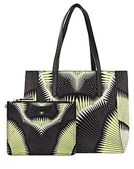 Accessorize Reversible Aztec Tote