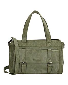 Enrico Benetti Amy Faux Leather Grab Bag