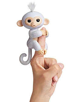 Fingerlings Glitter Monkey White