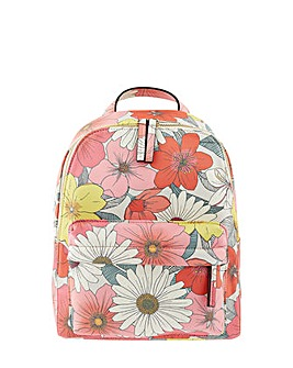 Accessorize Floral Printed Backpack
