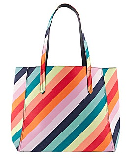 Accessorize Reversible Rainbow Tote