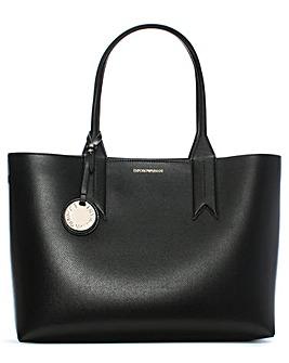 Emporio Armani Logo Motif Tote Bag