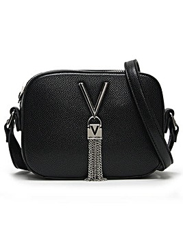Mario Valentino Divina Pebble Camera Bag