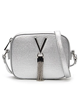 Valentino Bags Divina Pebbled Camera Bag