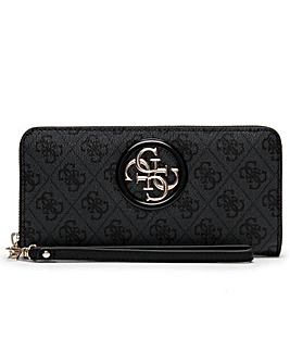 Guess Open Road Zip Around Wrist Wallet