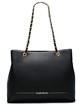 Mario Valentino Jingle Chain Handle Tote