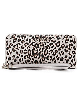 Guess Lorenna Zip Around Wristlet Wallet