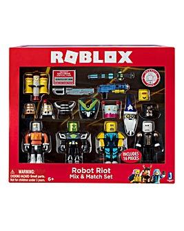 Roblox Build a Figure Robot Riot