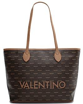 Valentino By Mario Valentino Liuto Logo Motif Tote Bag