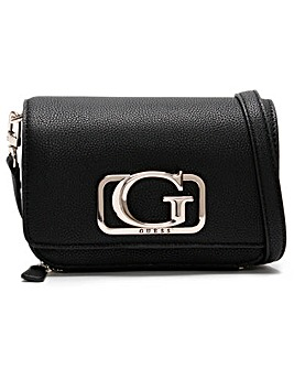 Guess Annarita Textured Mini Cross Body Bag