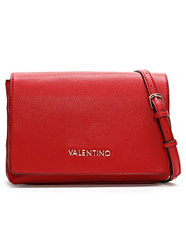Valentino By Mario Valentino Flauto Pebbled Shoulder Bag