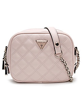 Guess Mini Quilted Camera Bag