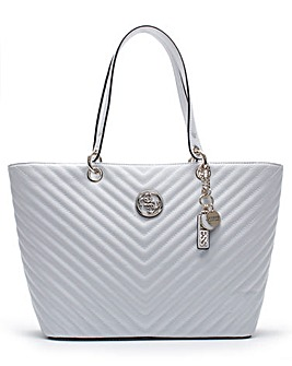 Guess Kamryn Quilted Tote Bag
