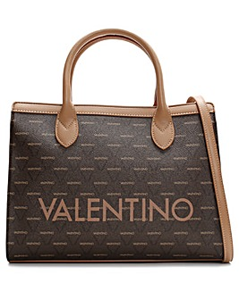 Mario Valentino Liuto Logo Shoulder Bag
