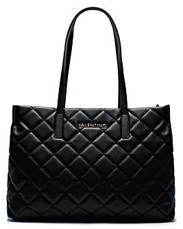 Mario Valentino Ocarina Quilted Tote Bag