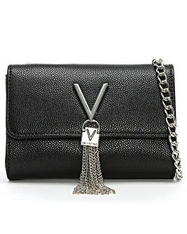 Valentino By Mario Valentino Divina Pebbled Shoulder Bag