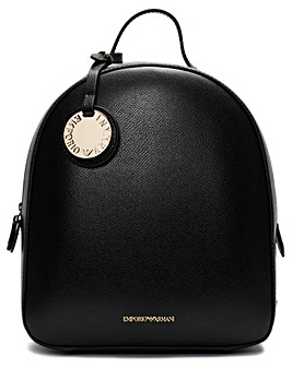 Emporio Armani Small Pebbled Backpack