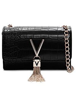 Valentino By Mario Valentino Audrey Moc Croc Shoulder Bag
