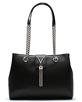 Valentino By Mario Valentino Divina Pebbled Tote Bag