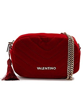 Valentino By Mario Valentino Carillon Velvet Quilted Belt Bag