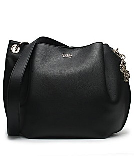 Guess Digi Pebbled Hobo Bag