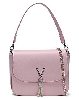 Valentino By Mario Valentino Divina Large Pebbled Shoulder Bag