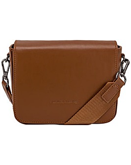 Smith & Canova Smooth Leather Flap Over