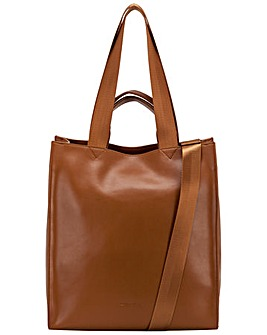 Smith & Canova Smooth Leather Tote