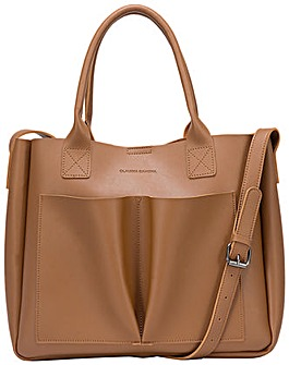 Claudia Canova Megan Xl Front Pocketed Tote
