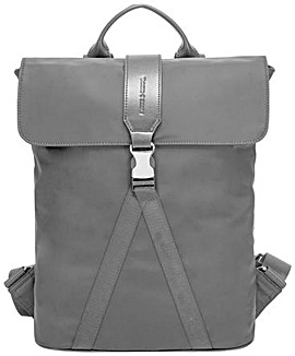 Smith & Canova Large Nylon Buckle Backpack