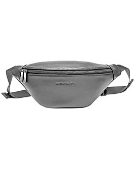 Smith & Canova Smooth Leather Zip Around Bum Bag