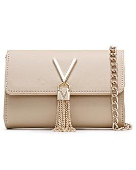 Valentino By Mario Valentino Divina Saffiano Shoulder Bag