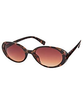 Monsoon Oregan Oval Tort Sunglasses