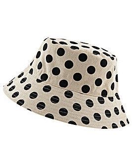 Accessorize Spotty Reversible Bucket