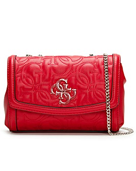 Guess Mini New Wave Convertible Cross-Body Bag